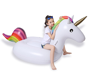 Jasonwell Big Inflatable Unicorn Pool Float