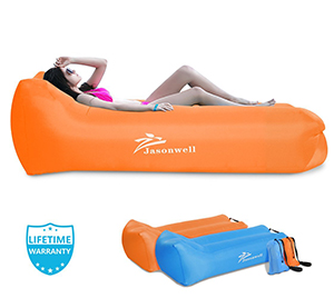 Jasonwell Portable Air Sofa(Orange)