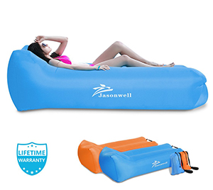 Jasonwell Portable Air Sofa(Blue)